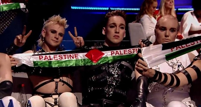 Iceland fined for pro-Palestinian protest