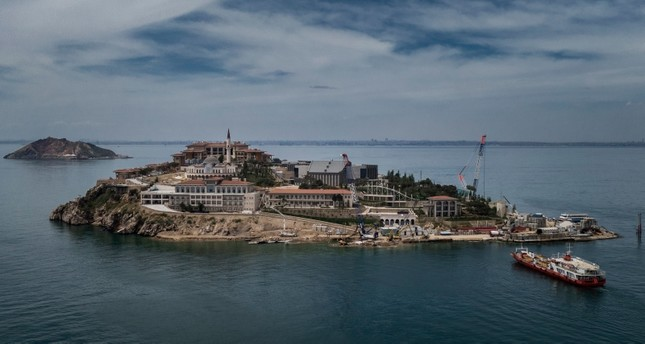 Democracy and Freedom Island off Istanbul coast to be inaugurated this year