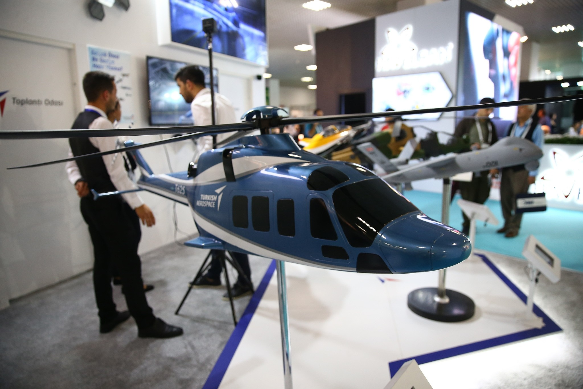 Local and foreign defense companies as well as defense officials from abroad participated in SAHA EXPO 2018 which ran from Sept. 13 to Sept. 15 in Istanbul.