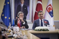 Turkey will reject any proposal by the EU to drop accession talks in favor of cooperation in other areas and continue to maintain the accession process, EU Minister Ömer Çelik said Thursday before...