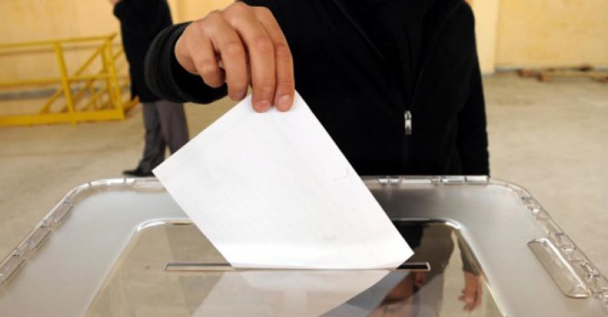 Turkish citizens cast their votes in the local elections on March 31.