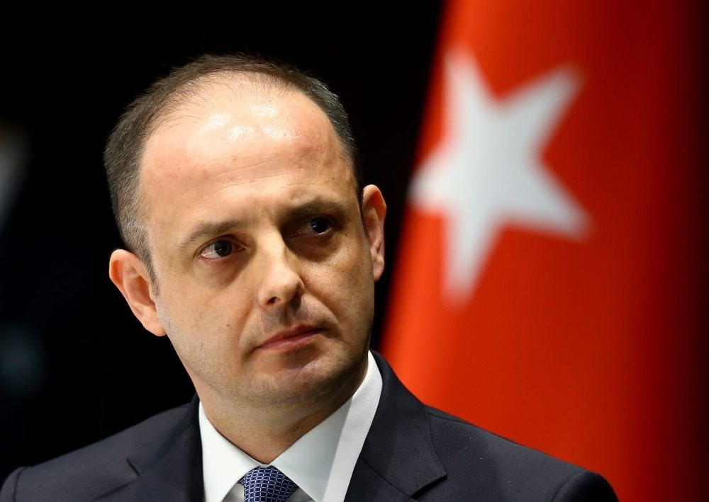 Governor of the Central Bank of the Republic of Turkey (CBRT), Murat u00c7etinkaya.