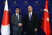 Turkey, Japan seek to further boost developing relations