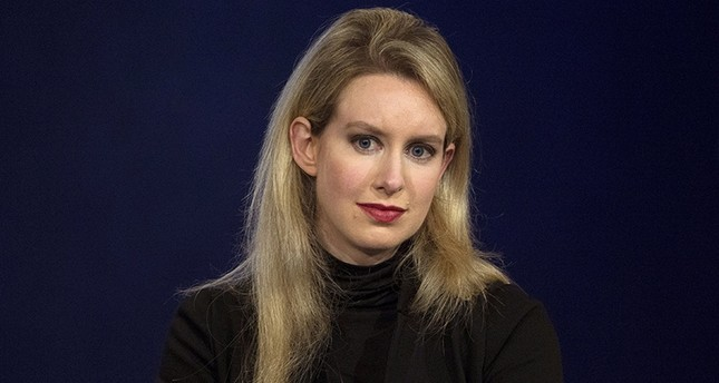 Elizabeth Holmes, CEO of Theranos, attends a panel discussion during the Clinton Global Initiative's annual meeting in New York, Sept. 29, 2015. (Reuters Photo)