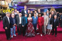 Hollywood stars shine at red carpet premiere of Star Wars spin-off 'Solo'