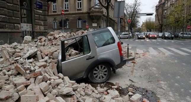 زغرب بعد الزلزال أسوشييتد برس