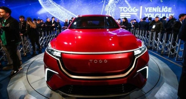 The fully electric sports utility vehicle model of Turkey's automobile will be the first electric-born car of its category in Europe. AA Photo