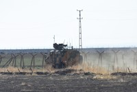 دورية تركية روسية مشتركة رابعة قرب الدرباسية شرق الفرات