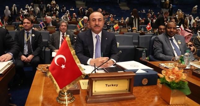 وزير الخارجية التركي في المؤتمر الدولي لإعادة إعمار العراق (IHA)