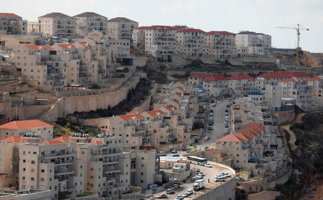 A view of the Israeli settlement of Beitar Illit, Feb. 14, 2018. (AFP Photo)