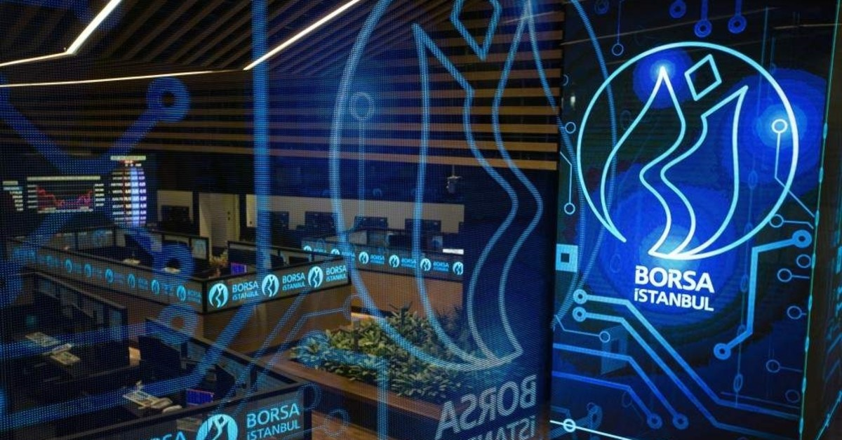 The benchmark index of Borsa Istanbul BIST 100 reached an all-time high at 124,536 points on Wednesday, Jan. 22, 2020. (?HA Photo)