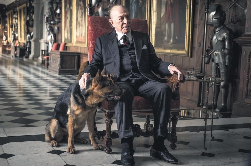 Image released by Sony Pictures shows Christopher Plummer in a scene from ,All the Money in the World.,
