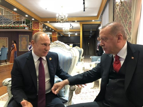 Erdoğan meets with Putin (IHA)