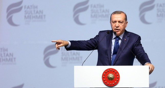 President Erdoğan, speaking at the graduation ceremony for the Fatih Sultan Mehmet university on June 22, asserted that Turkey could hold a referendum to exit membership talks.