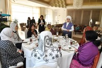 First Lady Emine Erdoğan hosts luncheon for wives of OIC leaders