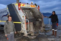 Service-minded village headman doubles as garbage collector in southwestern Turkey