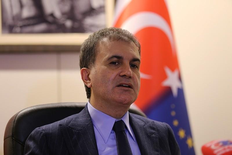 Minister for EU Affairs and Chief Negotiator u00d6mer u00c7elik. (u0130HA Photo)