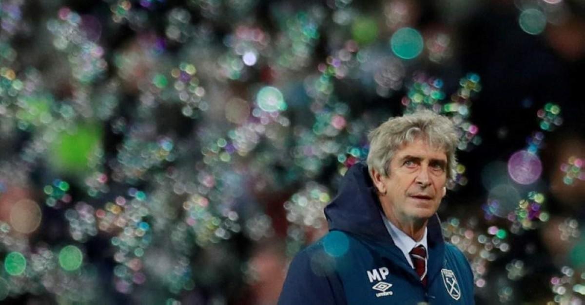 West Ham manager Manuel Pellegrini (Reuters Photo)