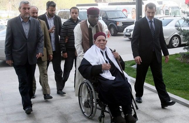This file photo shows Mohammed Mukhtar arriving in the AK Party headquarters in Ankara prior to a meeting with then Prime Minister Recep Tayyip Erdoğan on April 17, 2012. (Sabah / Mehmet Acar)