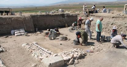 2,500-year-old post office found in Turkey's Amasya