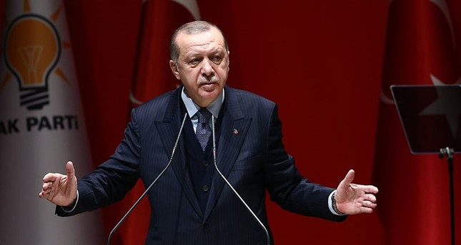 Erdoğan slams Pentagon spokesperson's comments on Afrin operation