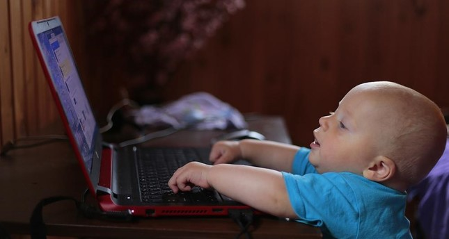 Even babies are now addicted to technology, experts claim