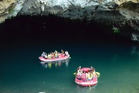 Altınbeşik Cave in the southern city of Antalya, famous for its stalactites and stalagmites, white-colored travertines and pond formations, provides a visual feast.  The cave, which is located...