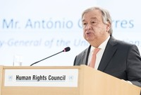 Inequality harms everyone, UN Chief Guterres says