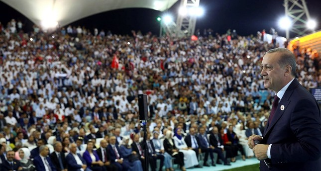 AK Party celebrated its 16th anniversary with a modest event in Ankara with more than 6,000 people participating in the event.