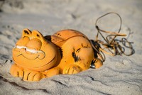 Garfield phone mystery at French beach solved after 3 decades