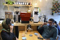 Turkish coffee becomes center of interest for people of Tehran