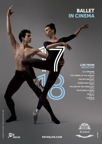Many classical works will be shown on Studio's screen with the Royal Opera House and Bolshoi Ballet Screenings.