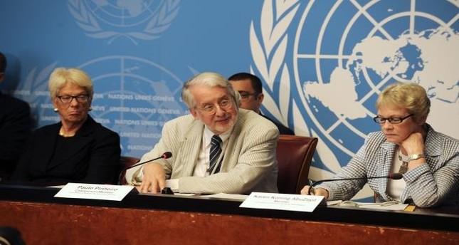 اللجنة الدولية المستقلة للتحقيق في انتهاكات حقوق الإنسان في سوريا
