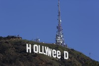 Pranksters change L.A.'s landmark sign to 'Hollyweed'