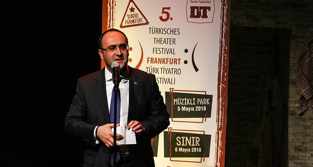 انطلاق مهرجان فرانكفورت المسرحي التركي للتعريف بالثقافة التركية