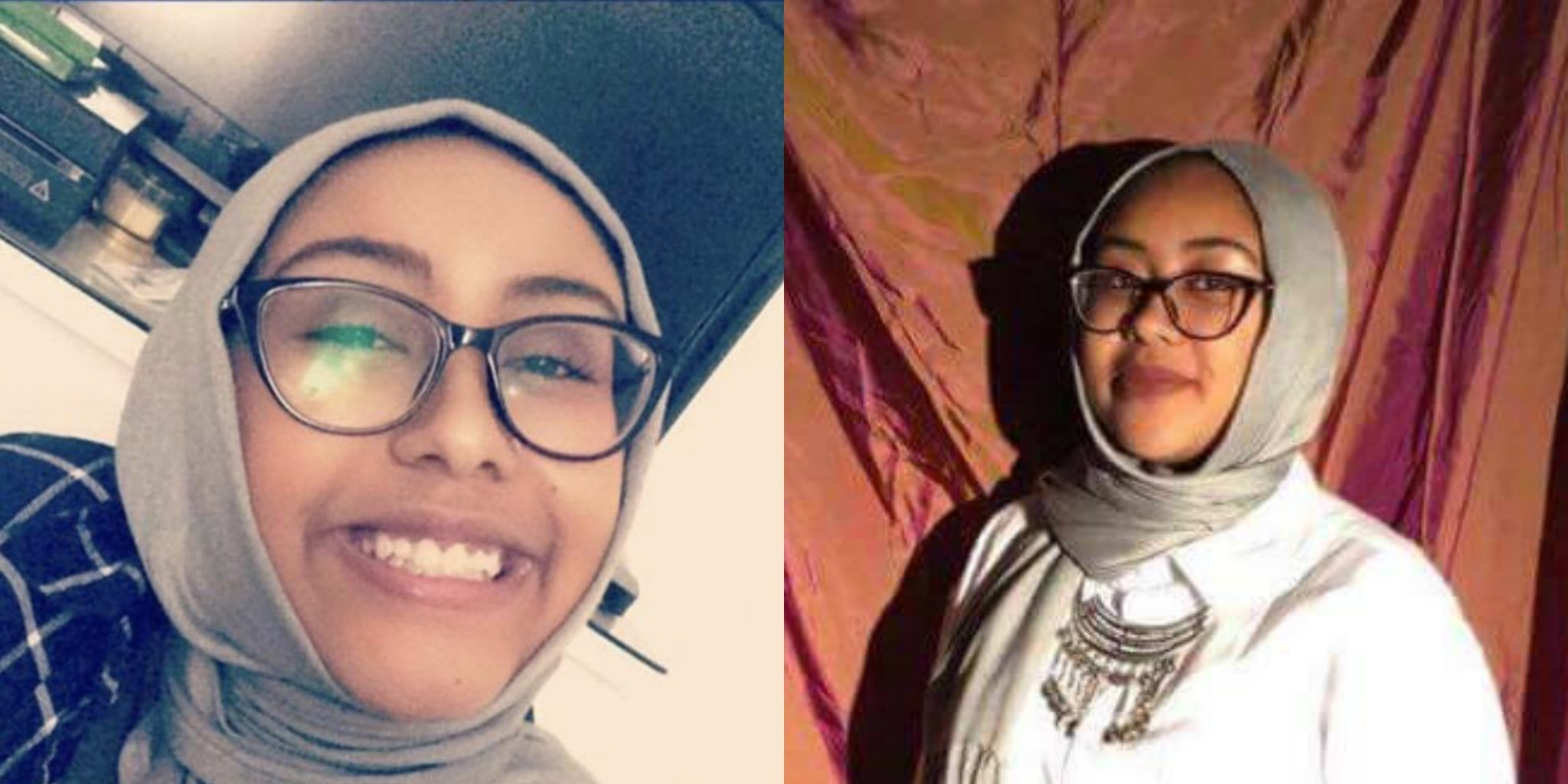 Photos of 17-year-old Nabra Hassanen obtained from social media.