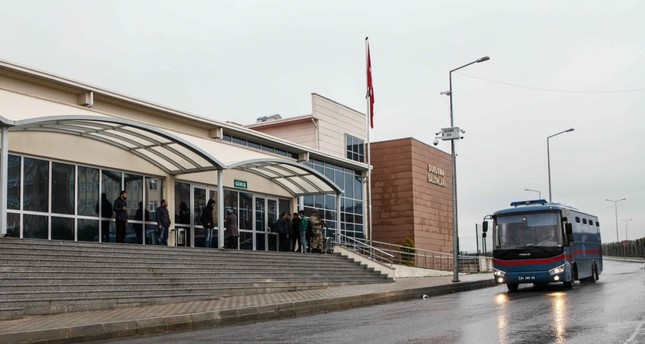 A view of the Silivri courtroom in Istanbul where trials will be held in August.