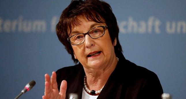 بريجيته تسيبريس - وزيرة الاقتصاد الألمانية