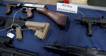 Americans own nearly half world's guns in civilian hands, survey shows