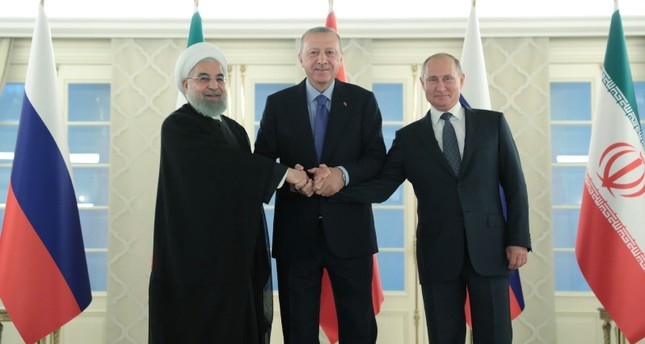 البيان الختامي: تركيا وروسيا وإيران ترفض خلق وقائع جديدة في سوريا بذريعة الإرهاب