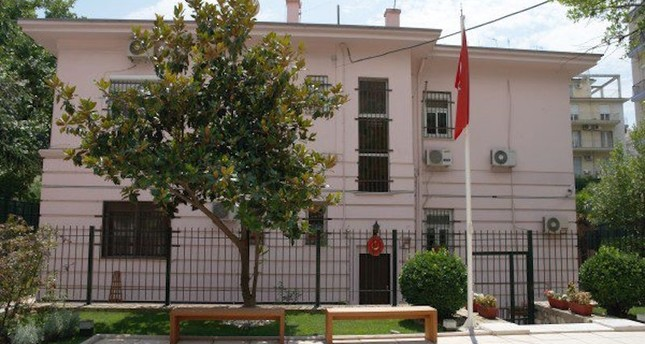 Molotov cocktails thrown at Turkish consulate in Greece