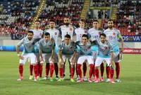 Still recovering from skipper Arda Turan's exit, Turkey routed Balkan minnows Kosovo 4-1 on Sunday in their 2018 FIFA World Cup Qualifier Group I match.