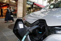 Energy firms battle startups to wire Europe's highways for electric cars