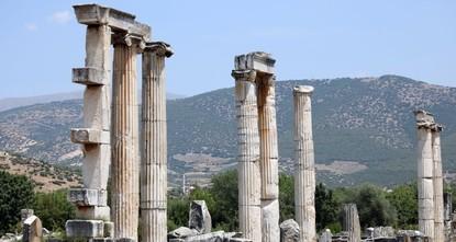 Excavations on Aphrodisias' Tetrapylon avenue near completion