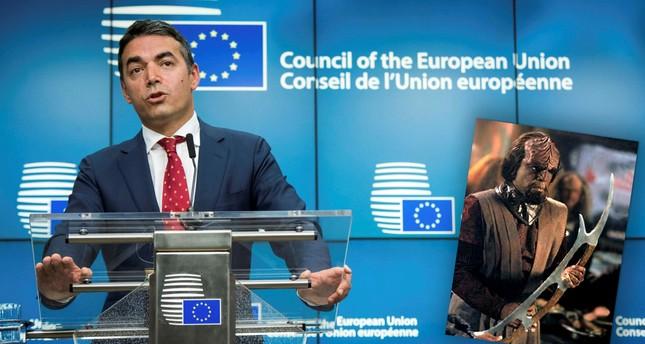 Macedonian FM likens 'FYROM' to Star Trek's 'Klingon'