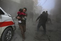 Syrian opposition-held Eastern Ghouta suffers bloodiest week since 2015