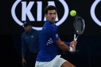Djokovic dominates first match, Halep survives scare