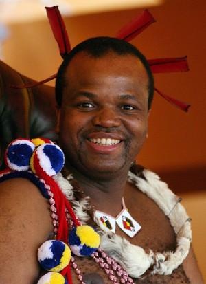 Swaziland's King Mswati III (EPA Photo)