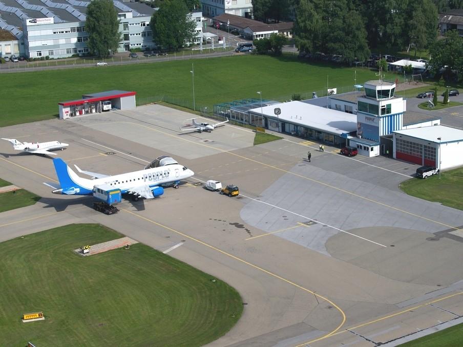 This photo shows the Alternheim airport in Switzerland. (Source: Wiki)