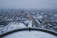 The Russian capital of Moscow, a gloomy and cold place for many, plunged into further darkness in December as the sun shined over the city for only about six to seven minutes.